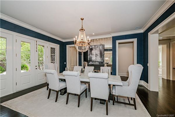 Luxury homes in One of the nicest remodels and additions in Charlotte