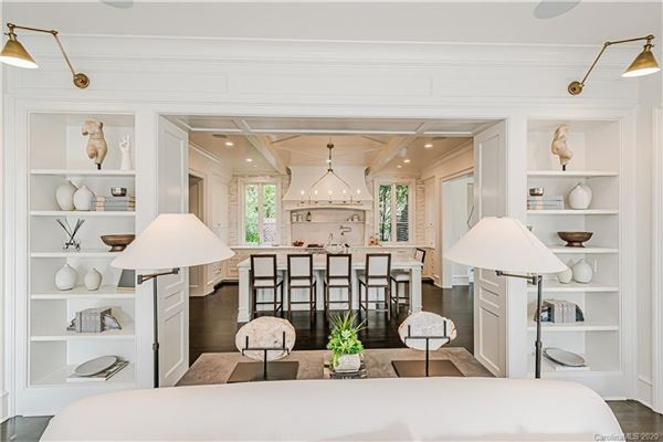 One of the nicest remodels and additions in Charlotte luxury real estate