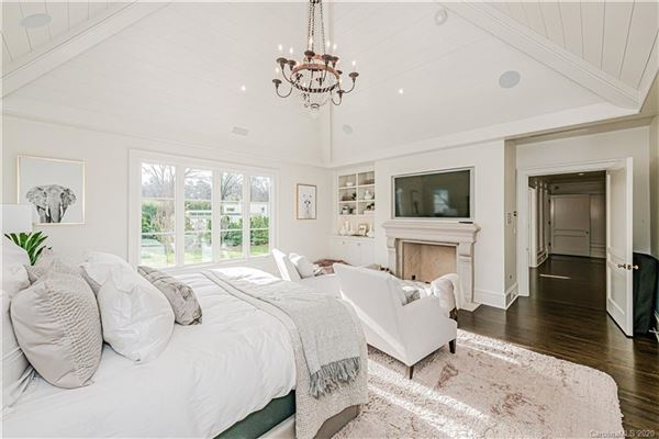 One of the nicest remodels and additions in Charlotte mansions