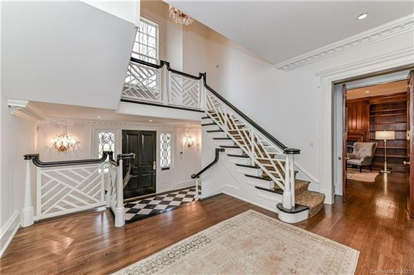 Luxury real estate Custom home on aN impressive lot in Eastover