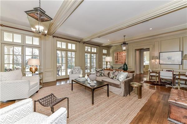 Mansions Custom home on aN impressive lot in Eastover