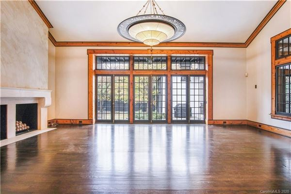 Luxury homes in Myers Park masterpiece