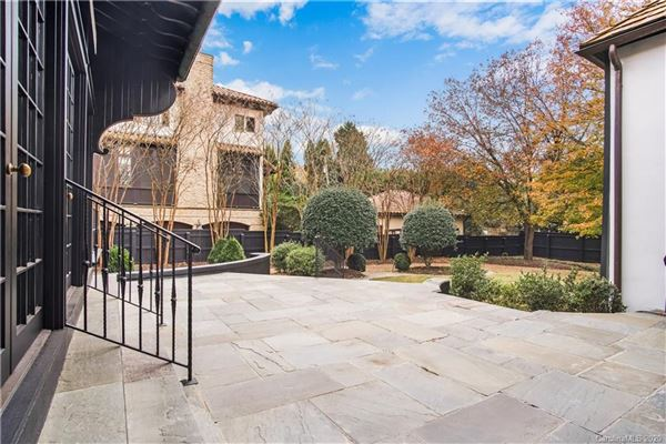 Luxury real estate Myers Park masterpiece