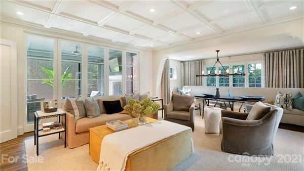 Luxury homes private light-filled historic estate in dilworth