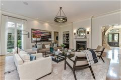 Mansions in modern transitional design with refined elegance