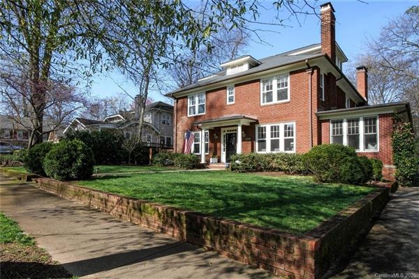 gracious home in historic Dilworth luxury real estate