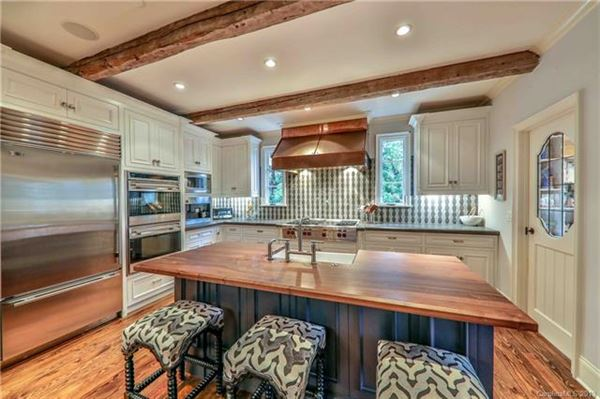 Elegant home on private half acre lot luxury real estate