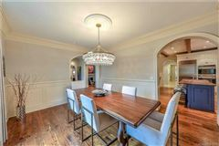 Luxury real estate Elegant home on private half acre lot