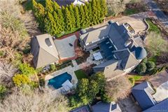 Elegant home on private half acre lot mansions