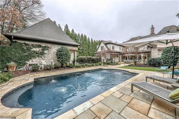 Elegant home on private half acre lot luxury homes