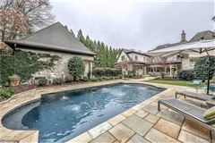 Mansions in Elegant home on private half acre lot