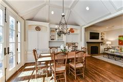 Luxury real estate gorgeous five bedroom with circular drive