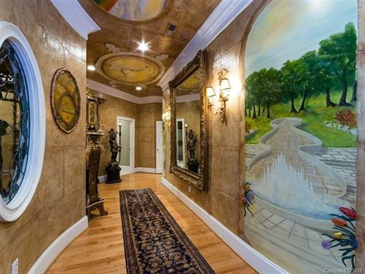 Luxury real estate penthouse home in myers park