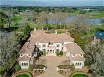 Luxury real estate custom golf course home with expansive views