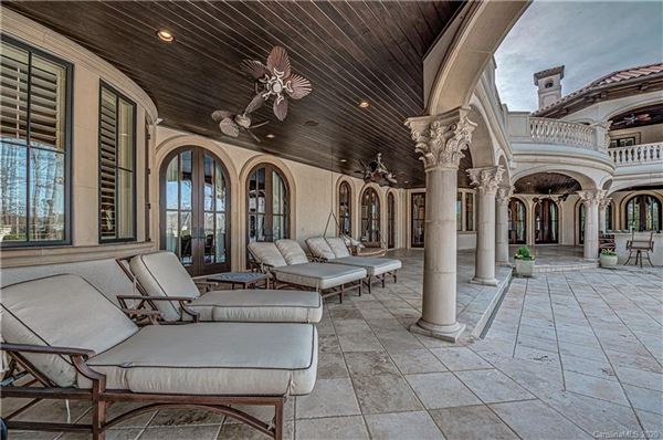 Luxury homes in custom golf course home with expansive views