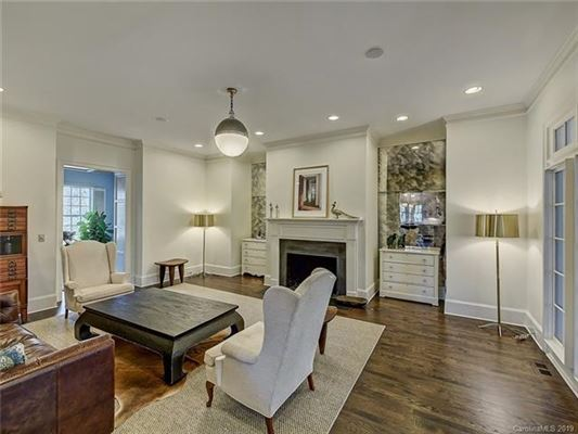 This Myers Park home has been completely renovated luxury real estate