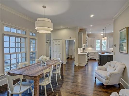 This Myers Park home has been completely renovated mansions