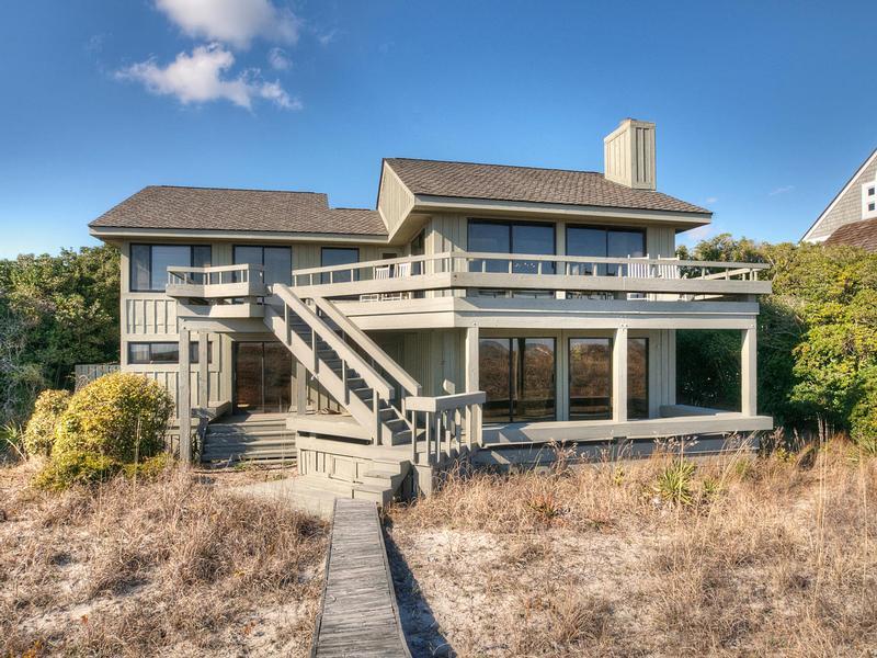 Oceanfront Cottage At Figure Eight Island North Carolina