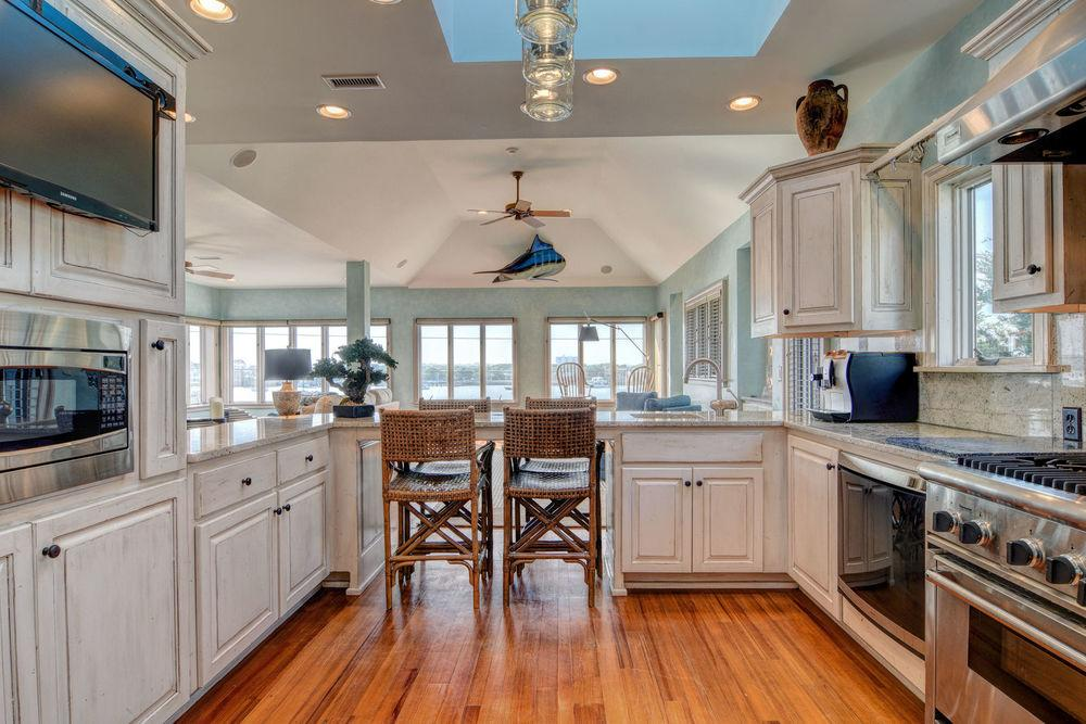 Luxury real estate Custom Coastal design in wrightsville beach