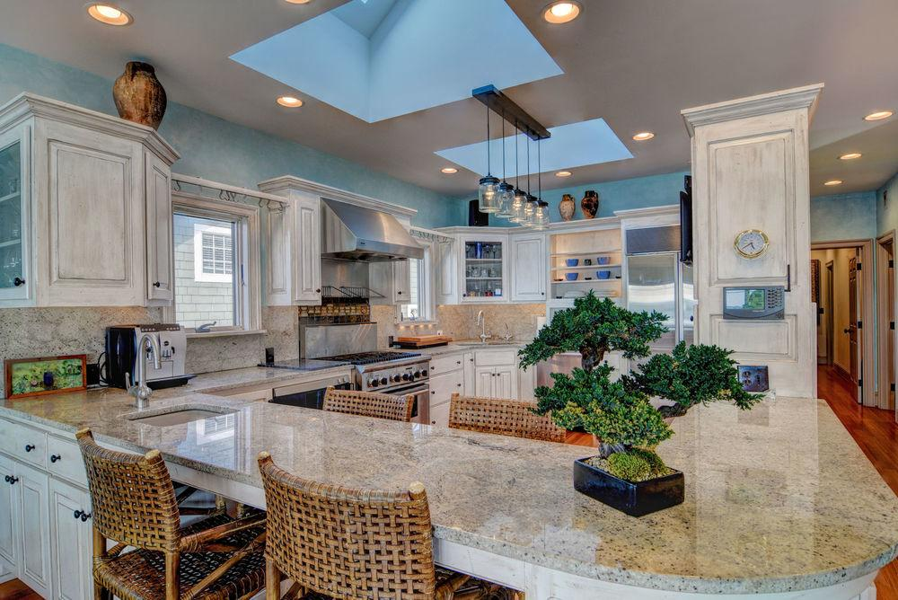 Custom Coastal design in wrightsville beach luxury properties