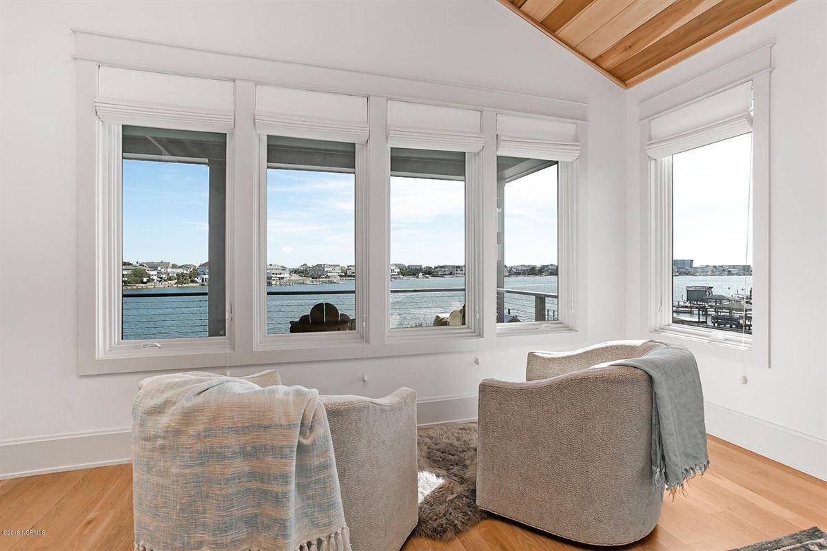 Luxury properties waterfront masterpiece in wrightsville beach
