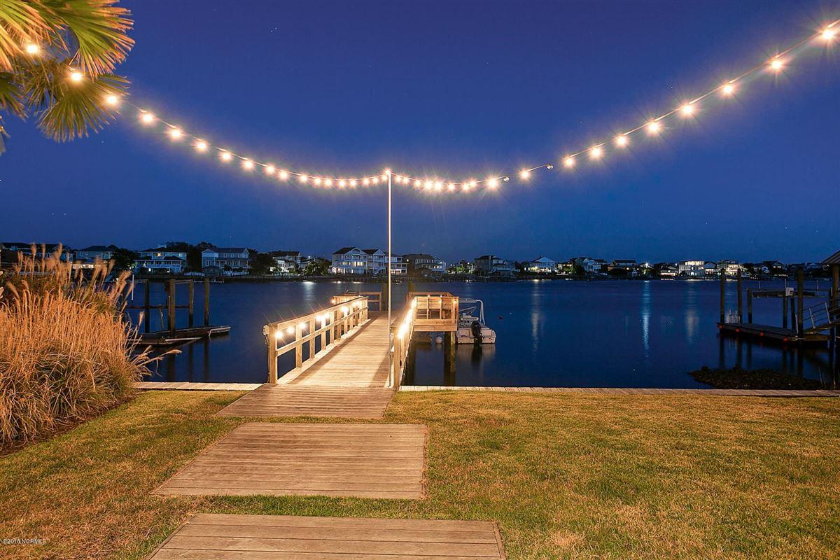 waterfront masterpiece in wrightsville beach mansions