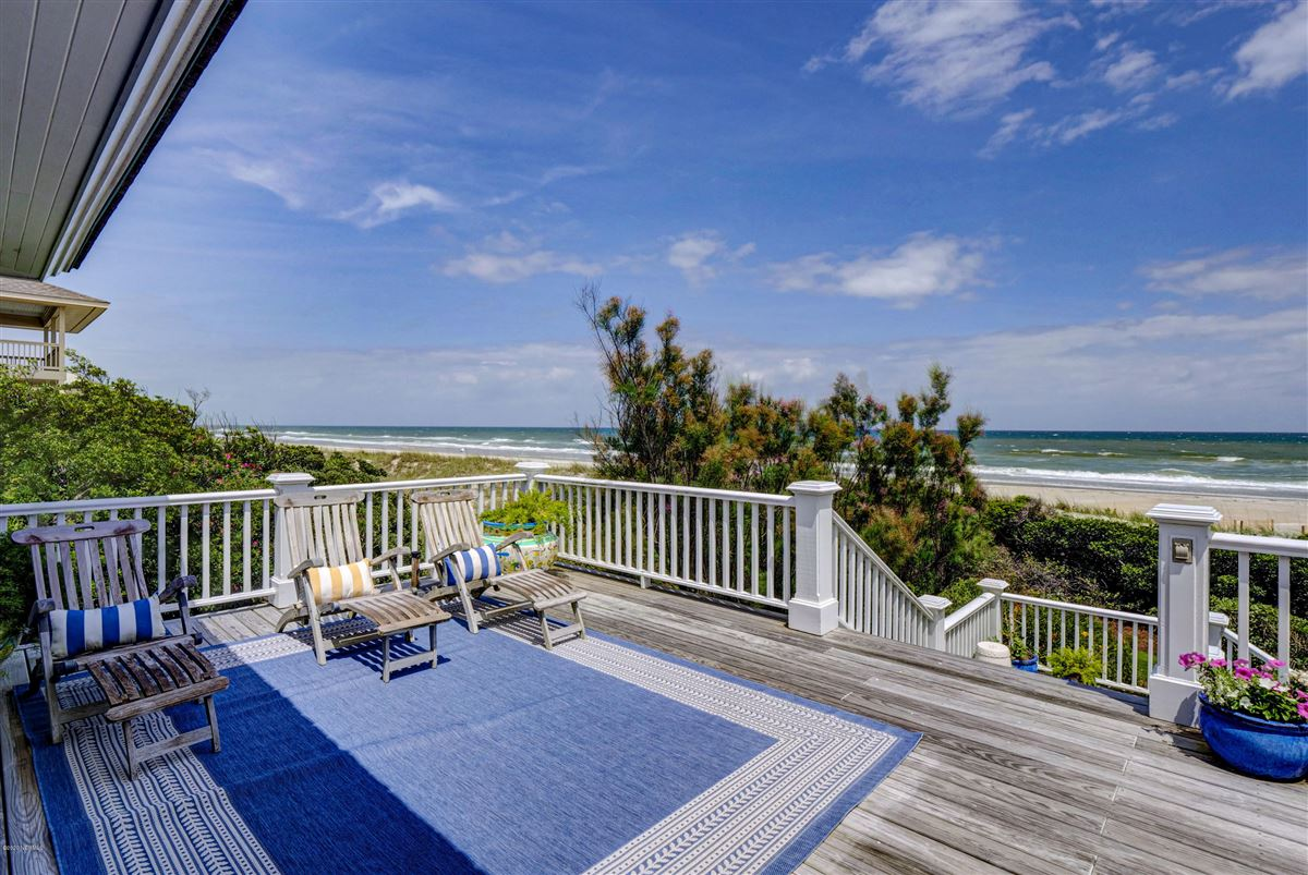 Luxury real estate double lot oceanfront home