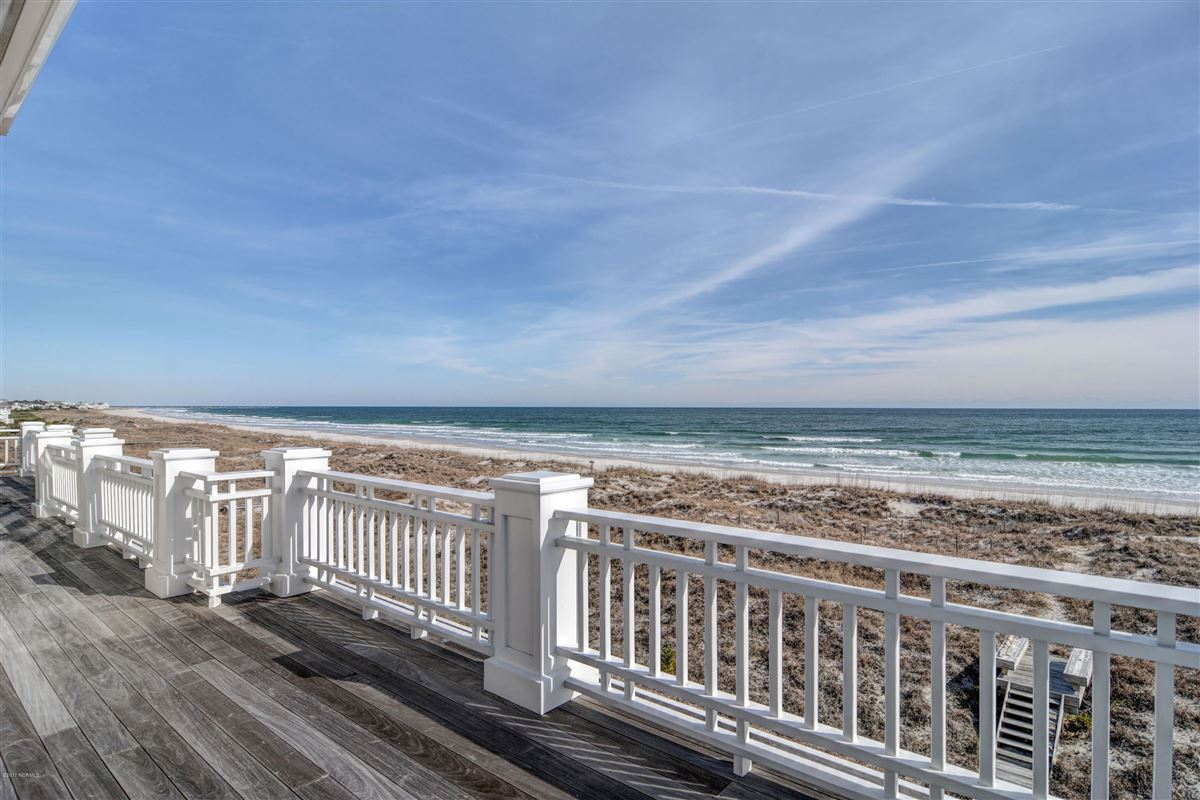 Luxury properties oceanfront home located on the north end of Figure Eight