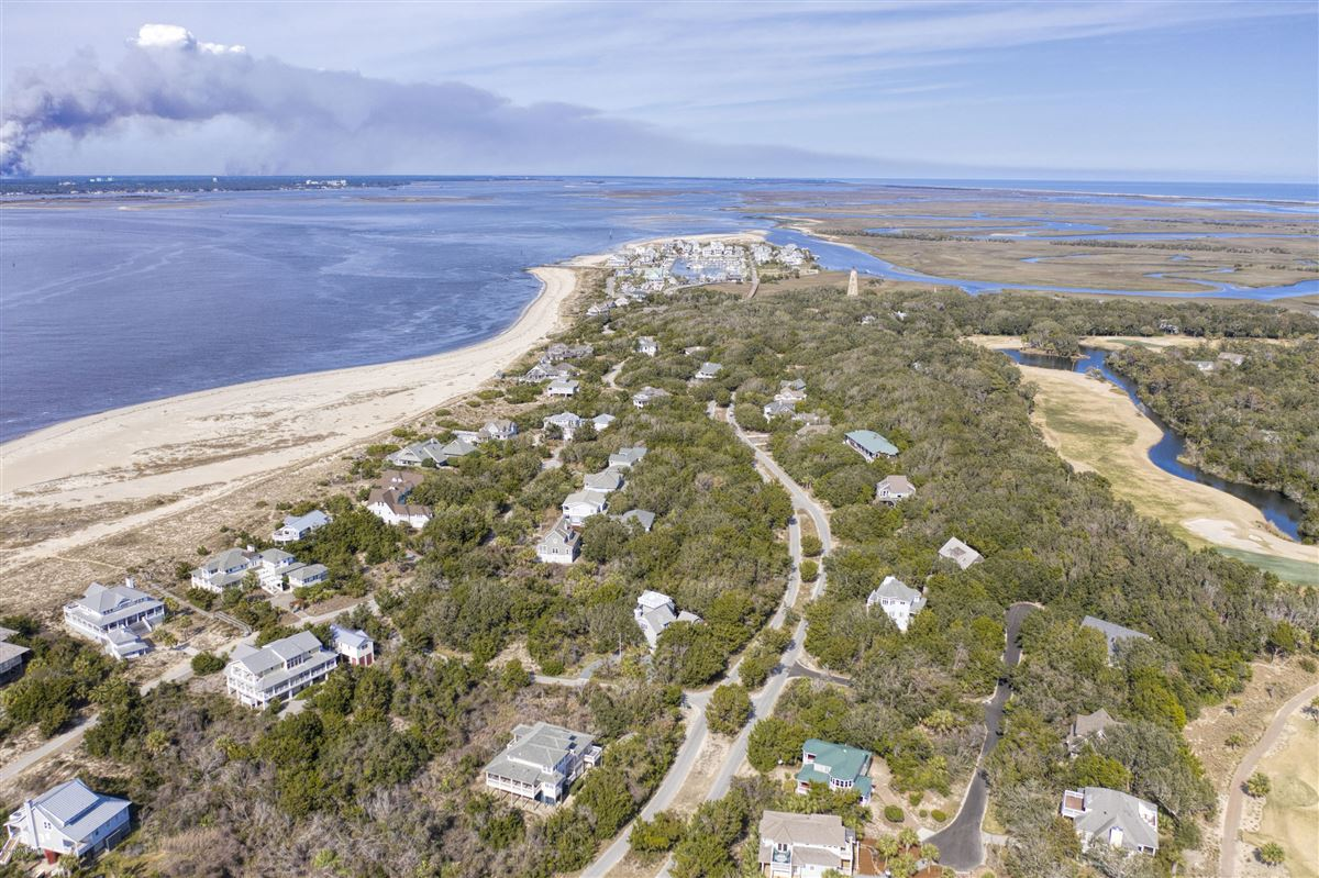 Expansive views of the Cape Fear River  mansions