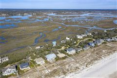 Luxury homes in Spectacular marsh-front lot