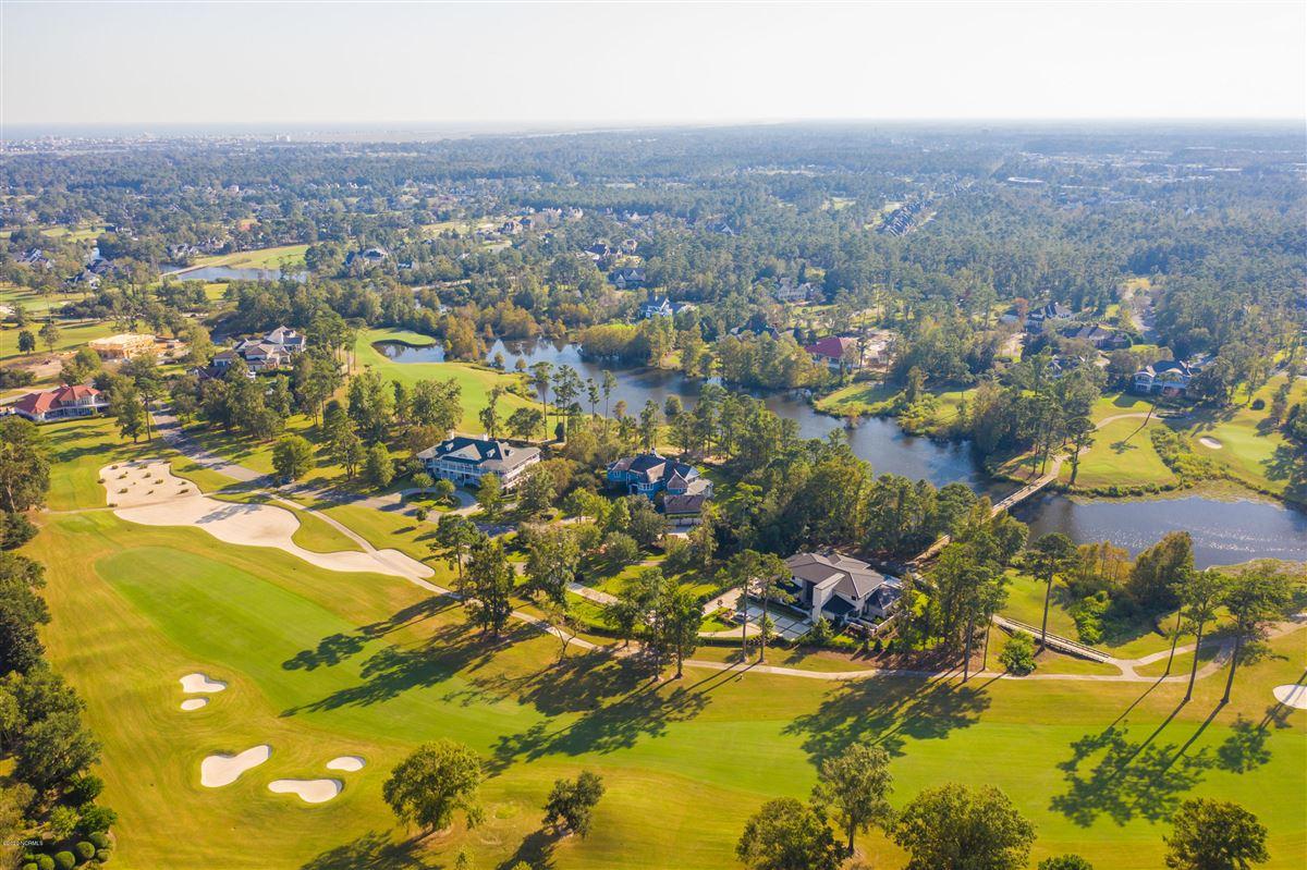 Luxury real estate property in Landfalls estate neighborhood