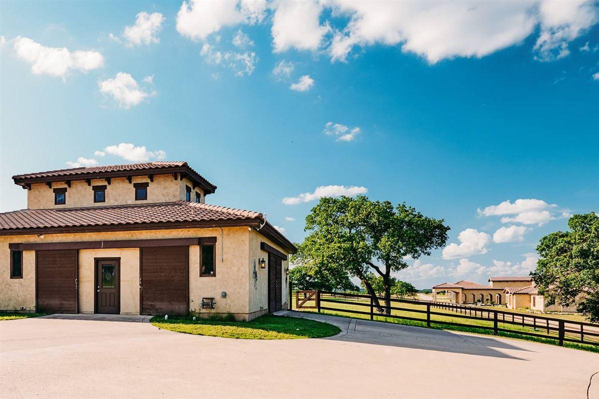 Luxury real estate masterfully designed estate on 64 acres