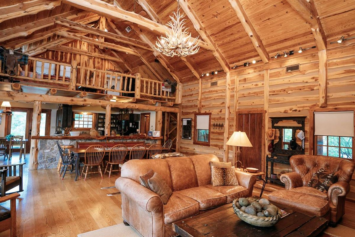 turnkey ranch with unparalleled water frontage mansions