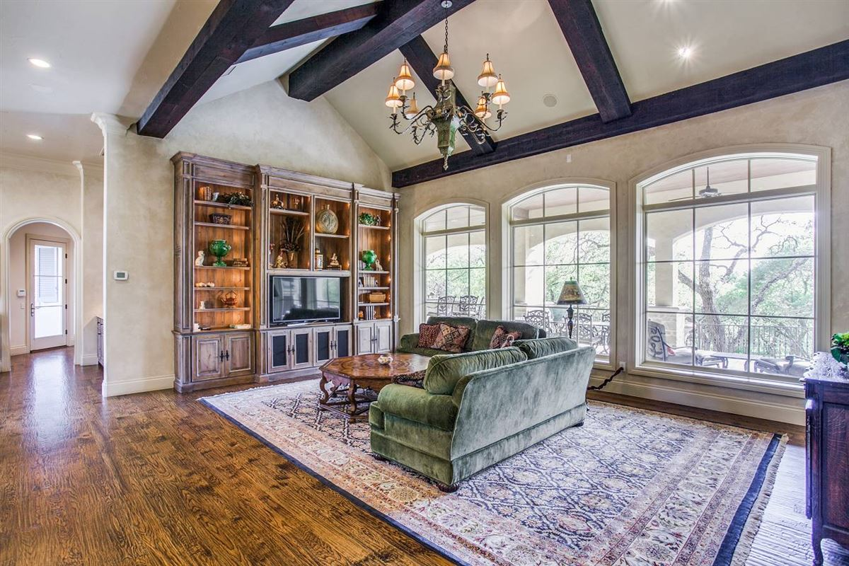 Luxury homes exquisite custom-built French country estate