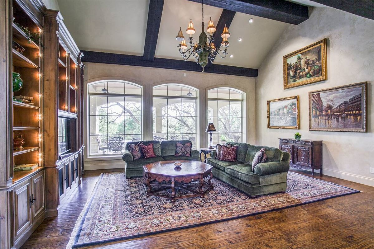 exquisite custom-built French country estate luxury homes