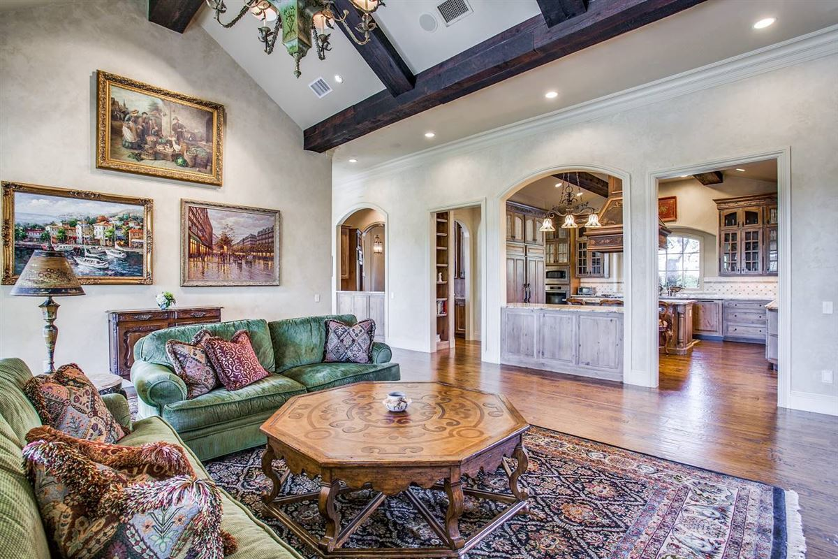 Luxury real estate exquisite custom-built French country estate