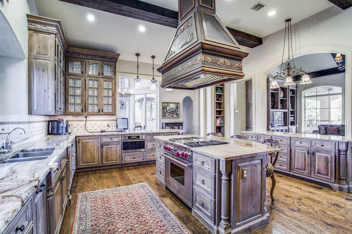 Mansions exquisite custom-built French country estate