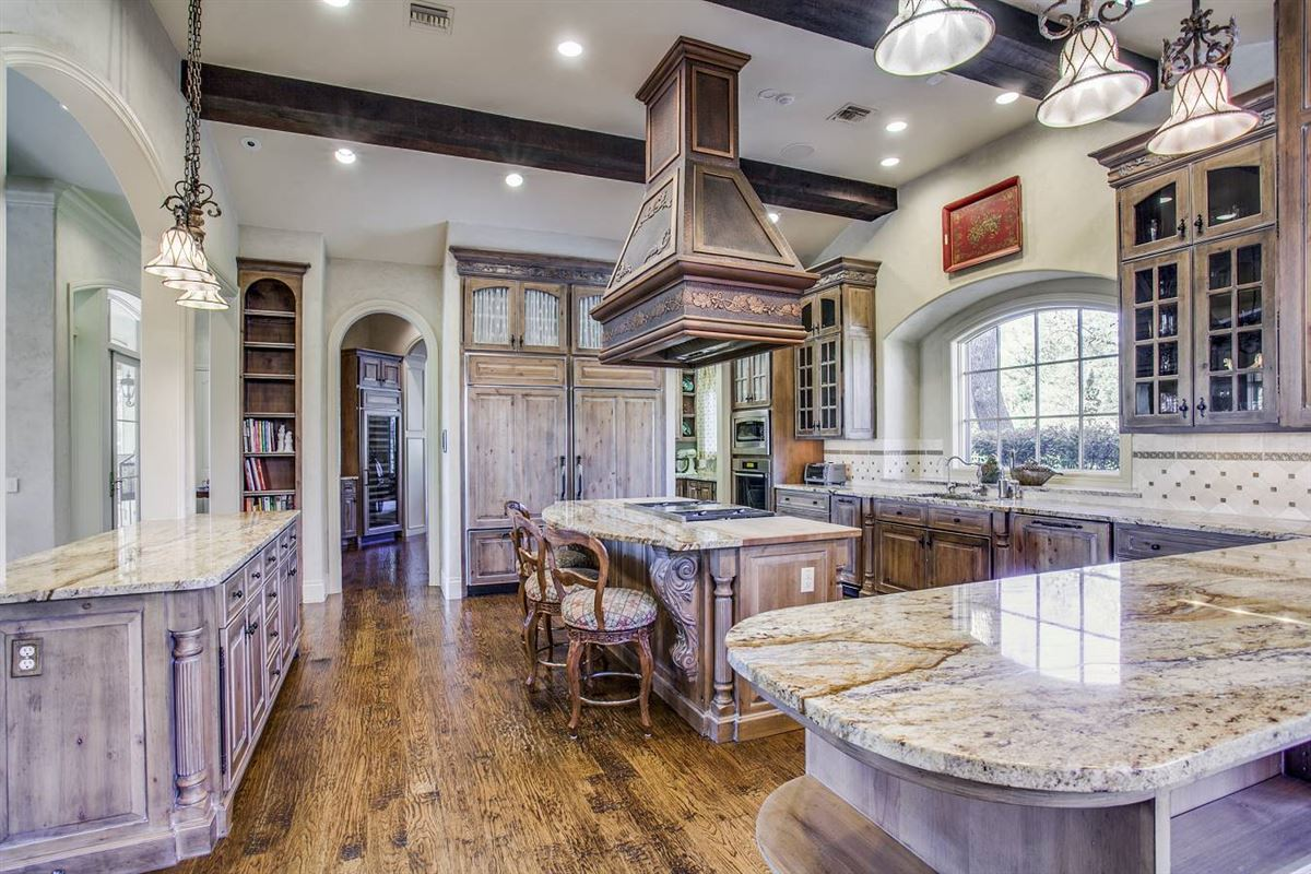 Luxury homes in exquisite custom-built French country estate
