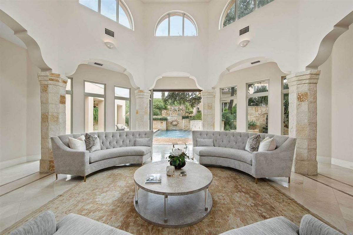 Luxury homes Mediterranean-style mansion offering unprecedented beauty and amenities