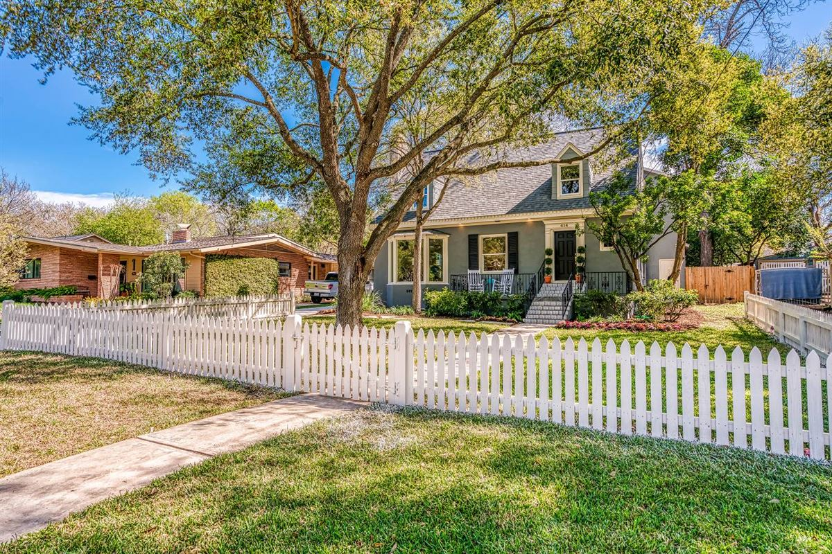 historic Alamo Heights colonial cottage luxury homes