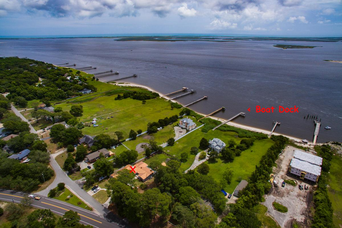 Luxury real estate Beautiful view of the Cape Fear River