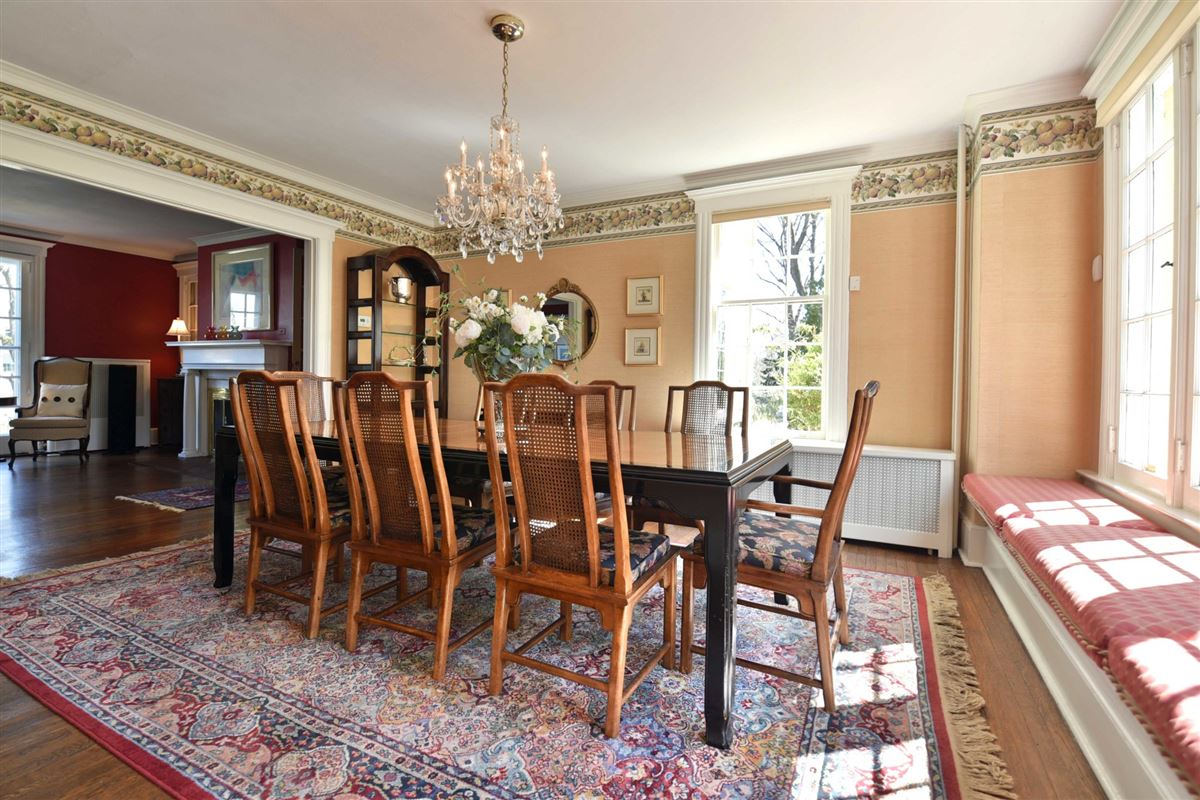 Luxury real estate thoughtfully renovated turn of the century Renaissance Revival home