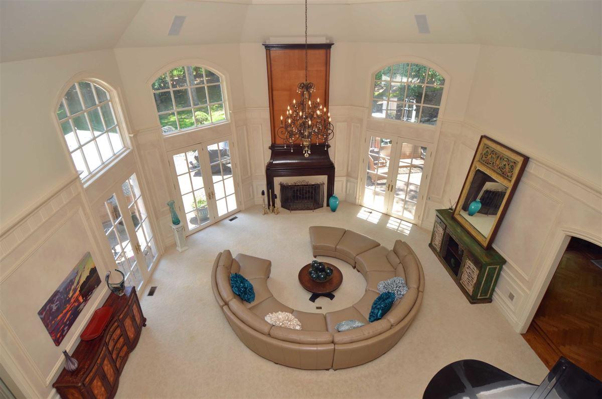 Luxury homes in distinctive custom manor