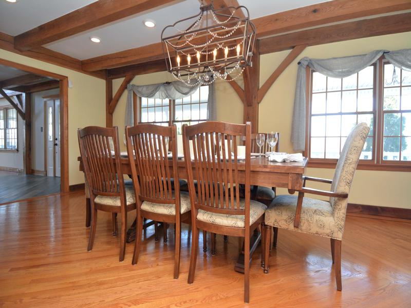 Luxury homes Post and beam construction Adirondack style home