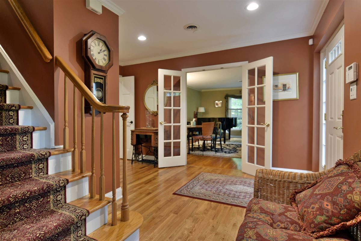 Luxury homes meticulously maintained center hall colonial