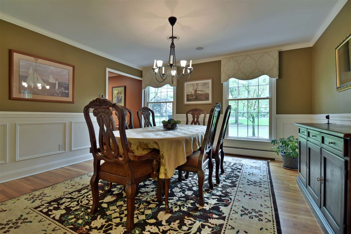 Luxury homes in meticulously maintained center hall colonial