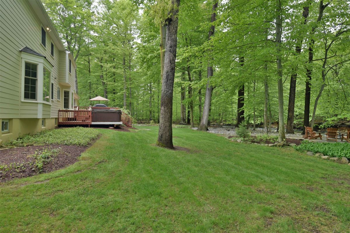 Luxury real estate meticulously maintained center hall colonial