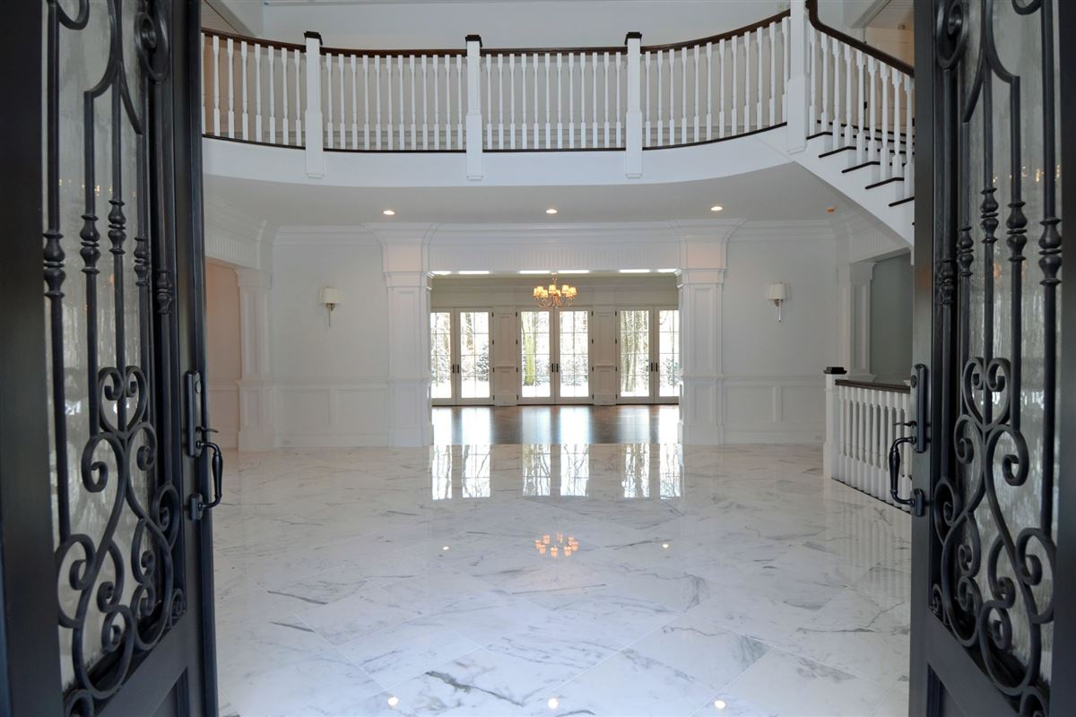 Luxury real estate this magnificent manor home is in premier location