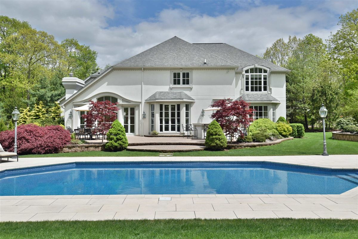 Luxury real estate French Manor home with timeless elegance