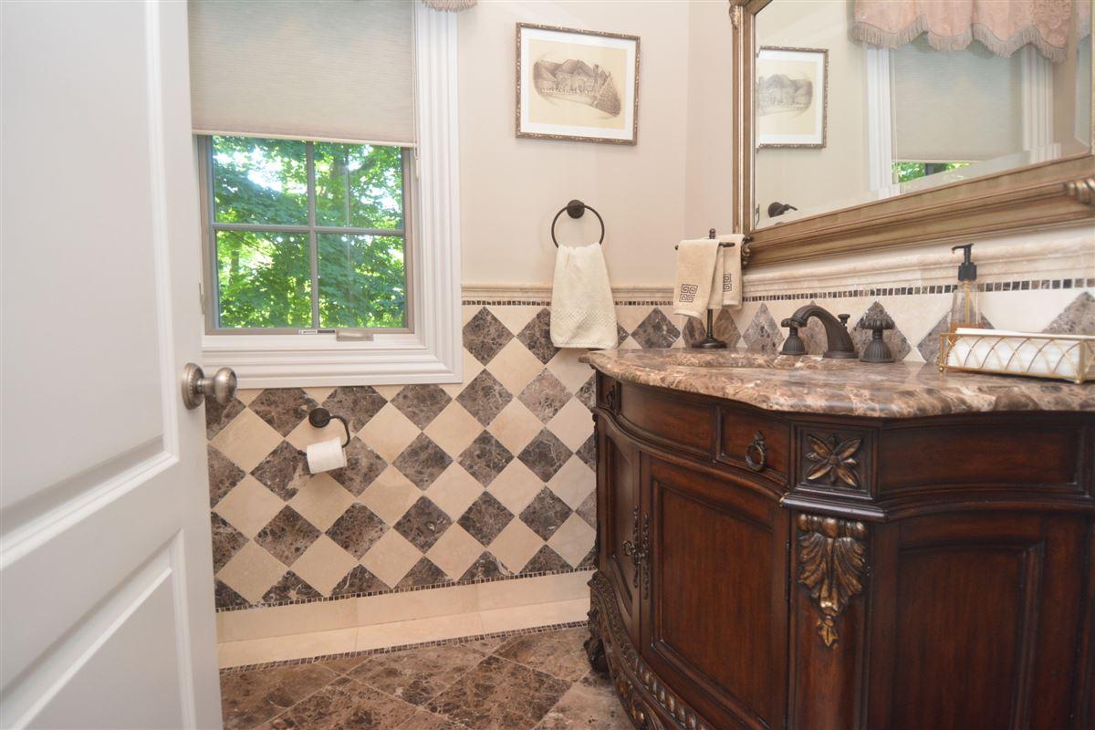 Mansions in private estate in exclusive Chestnut Ridge